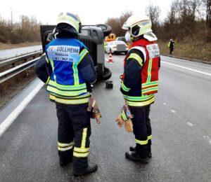 Bild der Feuerwehr im Einsatz