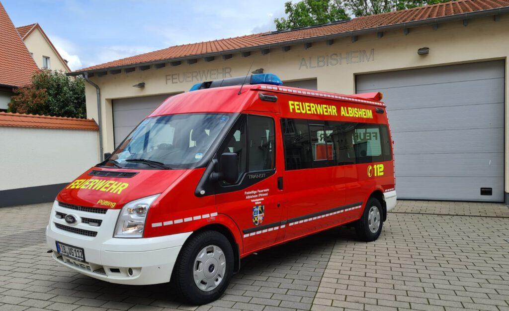 Mannschaftstransportfahrzeug Albisheim