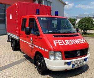 Mehrzweckfahrzeug Biedesheim von vorne