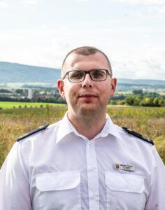 Stellvertretender Wehrleiter Manuel Fischer