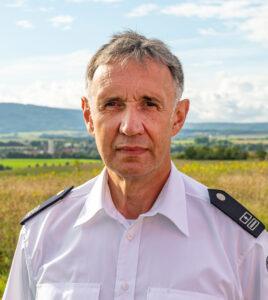 Stellvertretender Wehrleiter Karl-Heinz Webel